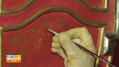 Restauradores recuperam imagens de santos e objetos antigos da Igreja da Sé, em Olinda - Trabalho busca preservar patrimônio do século 16.