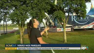 Confira dicas de programas infantis para o fim de semana em Curitiba - Tem atrações no Parque Náutico, Faróis do Saber e no Jardim Botânico.