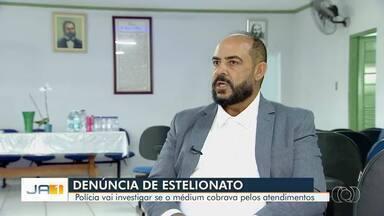 Polícia apura se médium pagava por atendimentos e remédios em Aparecida de Goiânia - Ele é investigado por três mortes em Goiás e duas na Bahia.