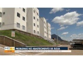 Blitz do MG mostra problemas com abastecimento de água em condomínio de Valadares - Alguns moradores ficaram até nove dias sem água.