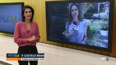 Coleta de lixo em Presidente Castelo Branco está suspensa por tempo indeterminado - A orientação da prefeitura é não deixar o lixo em frente às casas