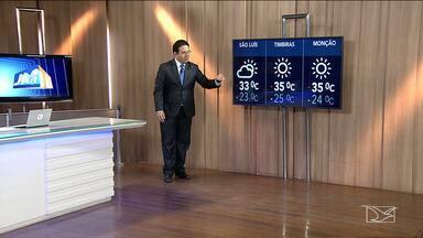 Confira as variações do tempo nesta sexta-feira (11) no Maranhão - Veja como deve ficar o tempo e a temperatura em São Luís e no Maranhão.