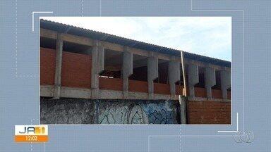 Telespectadores cobram a conclusão de obras de escolas públicas em Goiás - Segundo a comunidade, uma das obras está parada há 7 anos.