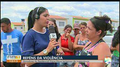 Moradores reclamam de insegurança em Residencial Xique-xique em Caruaru - Moradores denunciam os assaltos, que têm acontecido com frequência.