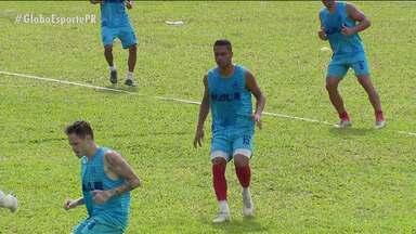 Rio Branco terá equipe jovem na disputa do Paranaense - Leão da Estradinha se prepara em Campo Largo para a estreia na competição