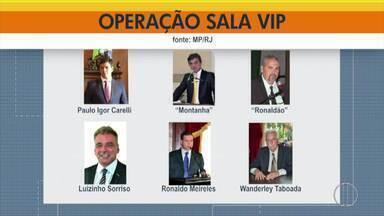 MP e Polícia Civil cumprem mandados contra esquema de corrupção na Câmara de Petrópolis - Assista a seguir.