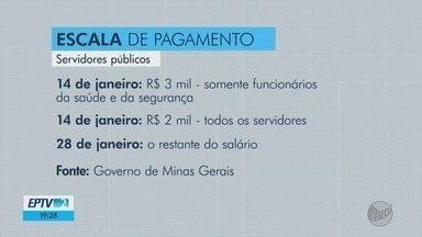 Governo de Minas divulga escala de pagamento de servidores públicos - Governo de Minas divulga escala de pagamento de servidores públicos