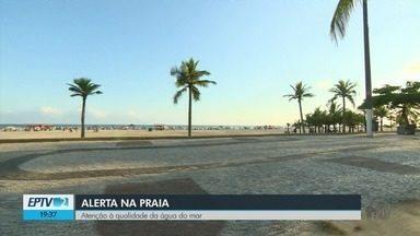 EPTV na Praia: banhistas devem ter atenção à qualidade da água do mar - EPTV na Praia: banhistas devem ter atenção à qualidade da água do mar