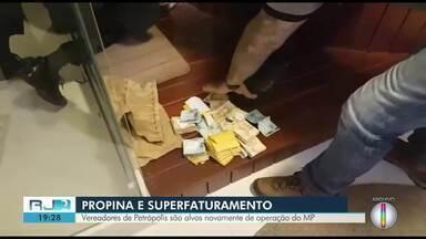 Vereadores de Petrópolis, RJ, são alvos novamente de operação do MP - Assista a seguir.