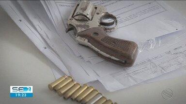 Quase 5 mil armas foram apreendidas em Sergipe nos últimos 4 anos - Quase 5 mil armas foram apreendidas em Sergipe nos últimos 4 anos.