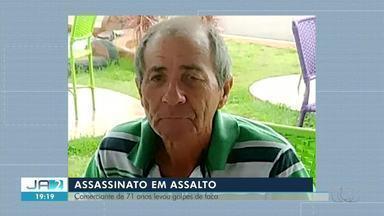 Suspeitos de matar comerciante de 71 anos durante assalto são presos em Tocantinópolis - Suspeitos de matar comerciante de 71 anos durante assalto são presos em Tocantinópolis