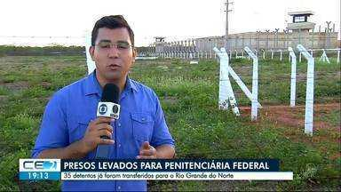 Chefes de facções são transferidos para presídio federal - Detentos foram para Mossoró, no Rio Grande do Norte