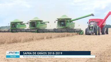 Safra de grãos 2018/2019 é positiva em Rondônia - Rondônia é destaque no cenário nacional.