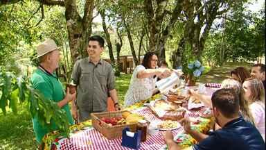 Família do centro-sul aposta no turismo rural para aumenta renda - Confira o Caminhos do Campo do dia 13/01/2019