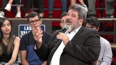 Mário Sergio Cortella reflete sobre os tempos atuais - Ele fala sobre como as pessoas reagem e agem ultimamente