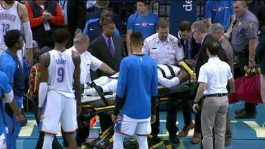 Semana da NBA: Lesão grave e bolada em James Harden marcam a rodada do basquete nos Estados Unidos - Semana da NBA: Lesão grave e bolada em James Harden marcam a rodada do basquete nos Estados Unidos