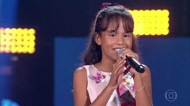 Ana Rízia canta 'Felicidade' - Menina encanta com sucesso de Lupicínio Rodrigues