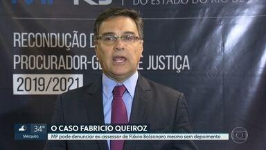 Eduardo Gussem toma posse de segundo mandato à frente do MP-RJ - Procurador-geral de Justiça do RJ disse que ex-assessor de Flavio Bolsonaro, citado em relatório do Coaf, pode ser denunciado mesmo sem prestar depoimento.