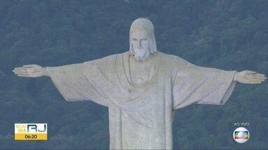 Cristo Redentor embeleza o Rio de Janeiro há 87 anos - Cristo Redentor embeleza o Rio de Janeiro há 87 anos