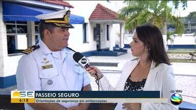 6c7f85062a Bom Dia Sergipe | Marinha dá orientações de segurança em embarcações |  Globoplay