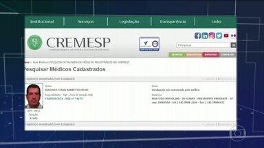Pacientes denunciam abuso sexual de cardiologista em Presidente Prudente (SP) - Ministério Público Estadual pede a prisão preventiva de Augusto César Barreto Filho