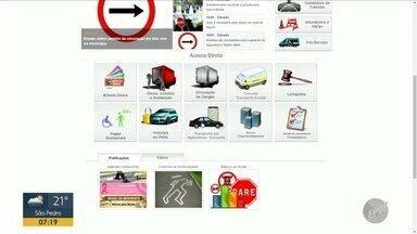 Emdec oferece serviço de consulta da situação de motoristas por aplicativo na internet - O passageiro poderá consultar no site da Empresa Municipal de Desenvolvimento de Campinas (Emdec) a situação do motorista do aplicativo.