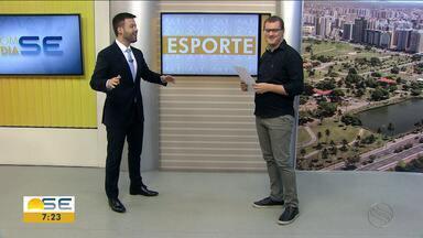 Confira as notícias do esporte desta sexta (18/01) - Thiago Barbosa destaca derrota do Confiança na Copa do Nordeste.