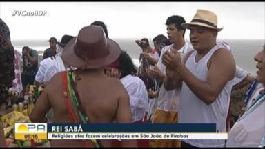 Religiões afro celebram o Rei Sabá em São João de Pirabas - Confira as informações com o repórter Noriel Magalhães