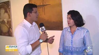 Exposição na Casa de Cultura Ivan Marrocos - Em Porto Velho, RO, a exposição com temas Amazônicos vai até o dia 19 de fevereiro