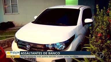 Polícia apreende mais quatro carros usados por suspeitos de assalto a banco no Pará - Ontem a Polícia Civil de Santarém apreendeu uma quadrilha de assaltantes.