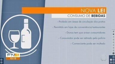 Estado proíbe consumo de bebidas alcoólicas em postos de combustíveis - Lei foi promulgada pelo governador João Doria (PSDB).