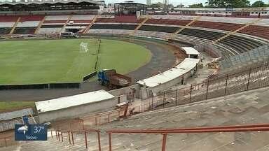 Estádio Santa Cruz em Ribeirão Preto não fica pronto para estreia no Paulistão 2019 - Botofago-SP enfrenta o São Bento neste domingo (20).