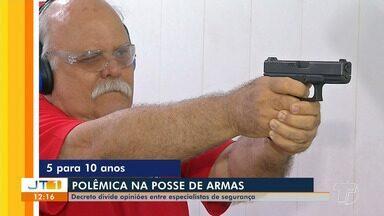 Decreto que facilita posse de arma no Brasil divide opiniões de especialistas - Quem defende a medida, aposta no direito do cidadão se defender. Quem é contra, teme que a violência aumente.