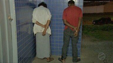Polícia prende casal suspeito de praticar assaltos em bairros de Cuiabá - Polícia prende casal suspeito de praticar assaltos em bairros de Cuiabá.