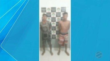 Dois jovens foram presos suspeitos de estuprar uma menor de 16 anos - Em Ladário.