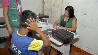 Indígenas reclamam que falta atendimento na saúde depois de reforma - Em Coronel Sapucaia.