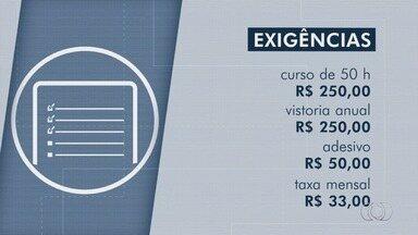 Prefeitura de Goiânia dá novo prazo para começar a fiscalizar motoristas de aplicativos - Decreto que estabelece parâmetros para o serviço está valendo desde o início de janeiro.
