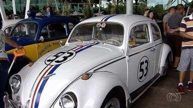 Exposição tem fuscas à mostra em Goiânia - Carros antigos continuam fazendo sucesso.