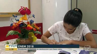 Enem 2018: conheça estudantes de Santarém que tiraram média 'excelente' - Segundo o Inep, apenas 55 candidatos tiram nota mil no exame.