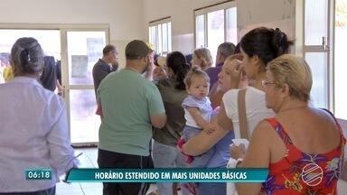 Unidades de saúde de Campo Grande funcionam em novo horário - Moradores da cidade poderão procurar Unidades Básicas de Saúde também em horário de almoço.