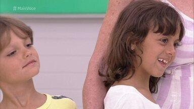 Bento e Joana acompanham a vovó Ana Maria Braga nas férias - Apresentadora promete brincadeiras com os netos durante a semana