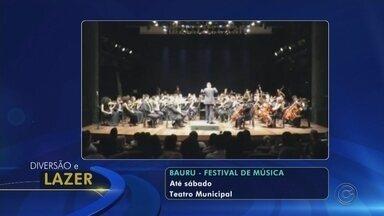 Confira a agenda cultural do Centro-Oeste Paulista - Confira as opções de cultura e lazer para a região neste meio de semana.