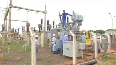 Problema na estação de tratamento de água interrompe abastecimento de água em Dourados - A previsão é que o conserto termine ainda nesta quinta-feira (24) e o abastecimento volte ao normal nesta sexta-feira (25).