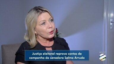 TRE reprova contas de campanha da senadora eleita Selma Arruda. - TRE reprova contas de campanha da senadora eleita Selma Arruda.
