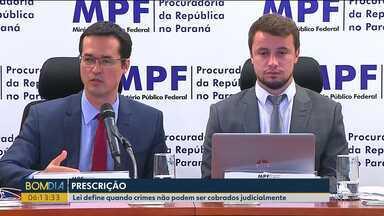 Alguns crimes que envolvem os pedágios paranaenses já prescreveram - MPF explica o por quê de não investigar situações de governos anteriores as duas gestões de Beto Richa.