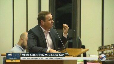 Vereador de Ribeirão Preto pode ser cassado - Isaac Antunes (PR) foi descoberto em suspeita de compra de votos.