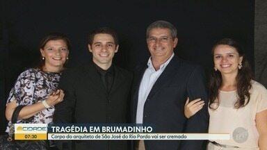 Tragédia de Brumadinho: Corpo do arquiteto de São José do Rio Pardo vai ser cremado - O corpo foi identificado nesta quarta-feira, arquiteto morava na Austrália e passava as férias no Brasil; o corpo será cremado em Belo Horizonte (MG).