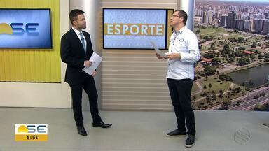 Confira as notícias do esporte desta quinta (31/01) - Thiago Barbosa destaca convocação de Sergipano para a Copa do Mundo de Parahalterofilismo e mostra como foi a vitória sobre o Dorense na Arena Batistão.