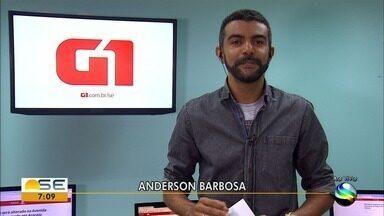 Confira os destaques do 'G1 Sergipe' desta quinta-feira - Anderson Barbosa fala sobre a morte de um detendo no presídio de São Cristóvão (SE).