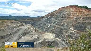 Conheça a barragem de contenção em Itagibá, no sul do estado - Local pertence à Mineradora Mirabela e há cinco anos não recebe rejeitos.